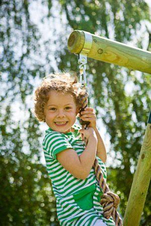 חבל טיפוס וסולם חבלים לילדים