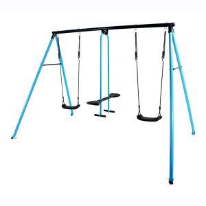 נדנדת מתכת כחולה לילדים דגם Cancan Classic Blue תוצרת Horby Bruk שוודיה