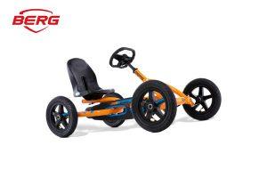 מכונית פדלים דגם Buddy Orange של חברת BERG מהולנד לגיל 3-8