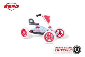 מכונית פדלים לילדים דגם Buzzy Bloom של חברת BERG