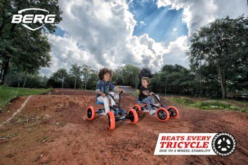 מכונית פדלים לילדים דגם Buzzy Nitro של חברת BERG מהולנד לגיל 2-5