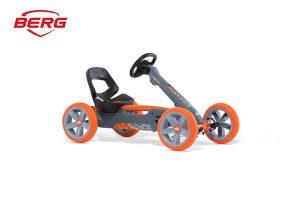 מכונית פדלים לילדים דגם Reppy Racer של חברת BERG בצבע כתום
