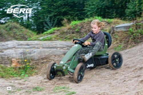 קארטינג פדלים של חברת BERG מהולנד דגם Rally JEEP