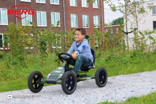 מכונית פדלים דגם Buddy Jeep של חברת BERG מהולנד לגיל 3-8