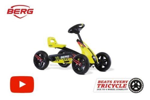 מכונית פדלים לילדים דגם Buzzy Aero של חברת BERG מהולנד לגיל 2-5