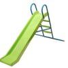 מגלשה גבוהה לילדים עם מדרגות מתכת בשילוב פלסטיק איכותי עמיד כנגד קרני UV