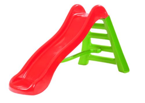 מגלשת גל גדולה לילדים בצבעים ירוק אדום