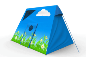 אוהל תואם לדגמי נדנדות המתכת של חברת Horby Bruk שוודיה