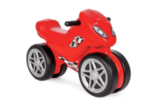בימבה אופנוע לילדים בצבע אדום